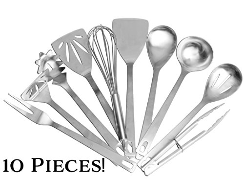 Stainless Utensils 10 Piece Ultimate Spaghetti product image