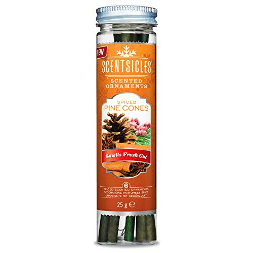 (Scentsicles Tree Ornament Spiced Pine Cone Scented Sticks)