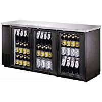72 Commercial Stainless Steel Beer Case Display Refrigeration UUB24-72G NSF