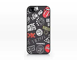 Music Band - Hard Plastic Case for Iphone 5c