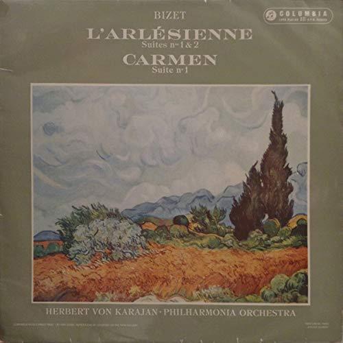 - BIZET: L'ARLESIENNE Suites Nos.1 & 2 CARMEN Suite No.1 [Vinyl LP record]