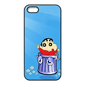 Crayon Shin chan iPhone 5 5s Cell Phone Case Black LMS3897200