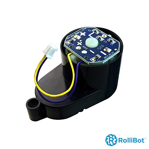 [해외]교체 용 롤빗 BL618 우측 브러시 모터. /Replacement Rollibot BL618 Right Brush Motor. Installs On Right Side, PCB Labeled  L