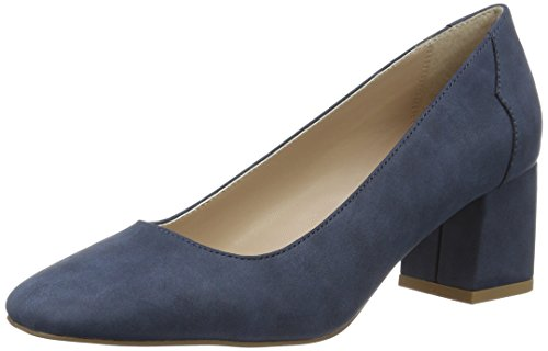 Esprit Damen Bice Pompt Blau (400 Navy)