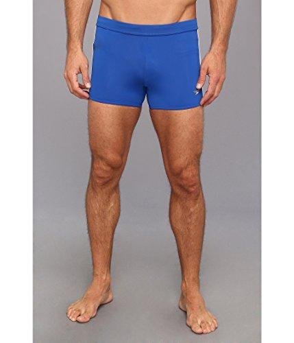 Speedo Men's Shoreline Square Leg Olympian Blue Swimsuit Bottoms ()