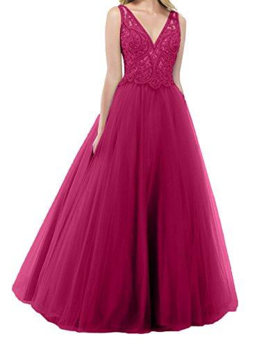 Hochwertig Promkleider Pailletten Charmant Bodenlang Pink Damen A Abschlussballkleider Abiballkleider Abendkleider Linie x5qwIA