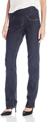 Jag Jeans Women's Peri Pull-on Straight Leg Jean in Comfort Denim
