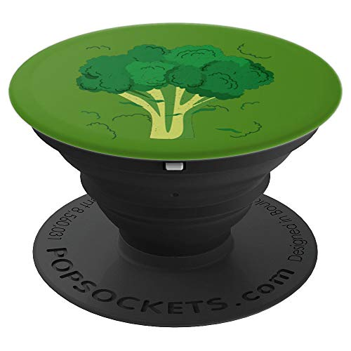 Broccoli Funny Veggie Lover Halloween Costume - PopSockets Grip and Stand for Phones and -
