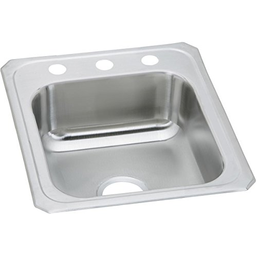 - Elkay Celebrity CR17213 Single Bowl Top Mount Stainless Steel Sink