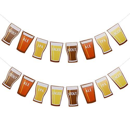 Beer Garland Octoberfest Party Birthday Wedding Bachelorette Party Decoration Supplies