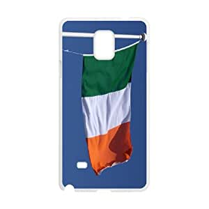Irish Flag Samsung Galaxy Note 4 Cell Phone Case White Phone cover G2682757