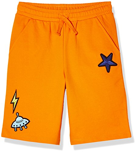 A for Awesome Boys French Terry Shorts X-Small Orange (Fun Terry)
