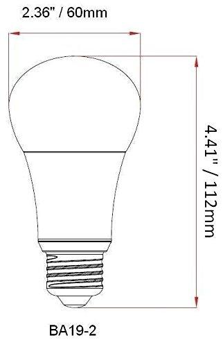 Bioluz-LED-6-Pack-A19-ECO-Series-Standard-LED-Light-Bulbs