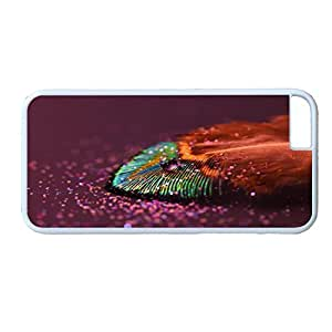 Andre-case ZENDOOP iPhone 6 4.7 case cover with Design of kdZ8SqmlwIJ Colorful Rainbow drops feather Wallpaper Pattern - Rainbow Color Serie