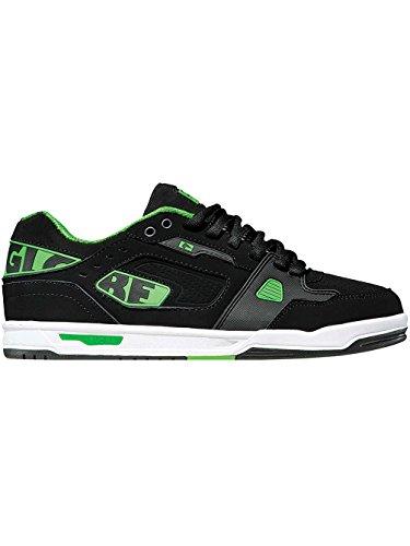 Globe - Zapatillas para mujer black/moto green/white