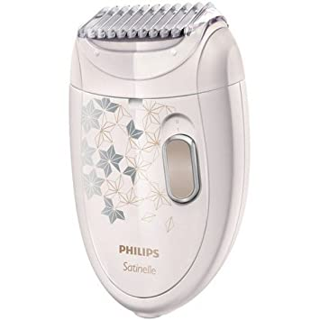 Philips Satinelle Corded Epilator HP6423 00 with Ladyshave Head Plus  Trimming Comb 0fe6be90c2