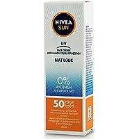 Nivea Sun UV Sunscreen Face Shine Control Cream for Mat Look SPF50, 50ml