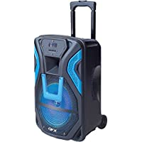 QFX PBX-61158/BL Portable Battery Powered Speaker