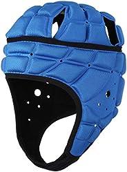 surlim Rugby Soft Helmet Soccer Headgear Scrum Cap 7v7 Flag Football Headguard for Adult Large
