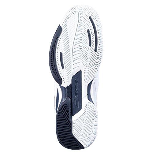 Babolat Pulsion del hombre All Court–Zapatillas de tenis blanco