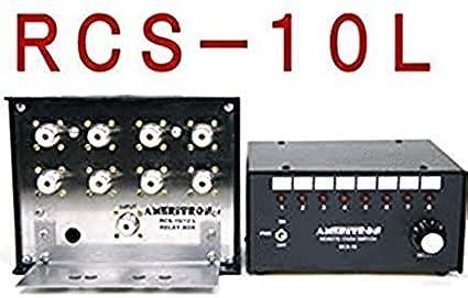 Ameritron RCS-10L Remote Coax Switch 8 Position