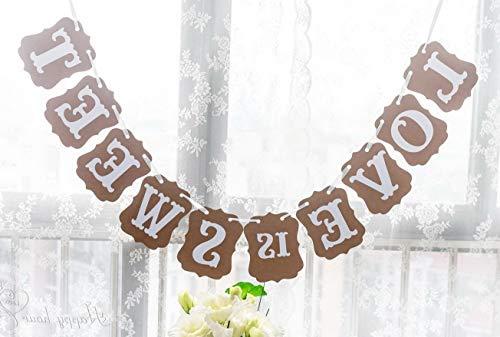 Mikash Love is Sweet Classical Vintage Wedding Gardland Tion Banner | | Model WDDNG - -