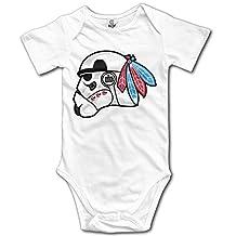 The Hawk Side CHI Blackhawks Infant Baby Toddler Romper Babysuit White