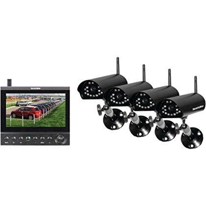 Security Man DigiLCDDVR4 7LCD DVR Security System W/ 4 Wireless Digital Cameras Home & Garden Improvement