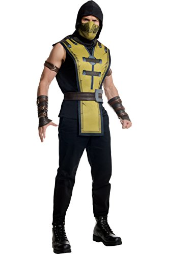 Rubie's Men's Mortal Kombat X Scorpion Costume, Multi, Standard ()
