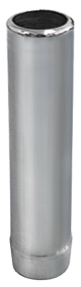 Standrohr Aussen 40mm Gr/ö/ße 1/½ H/öhe 185mm CNS Nutzh/öhe 170mm