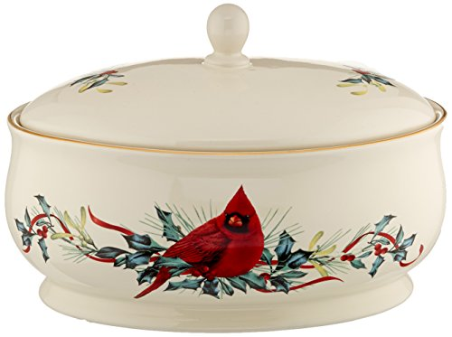 Lenox Holiday Bakeware (Lenox Winter Greetings Covered Casserole Dish)