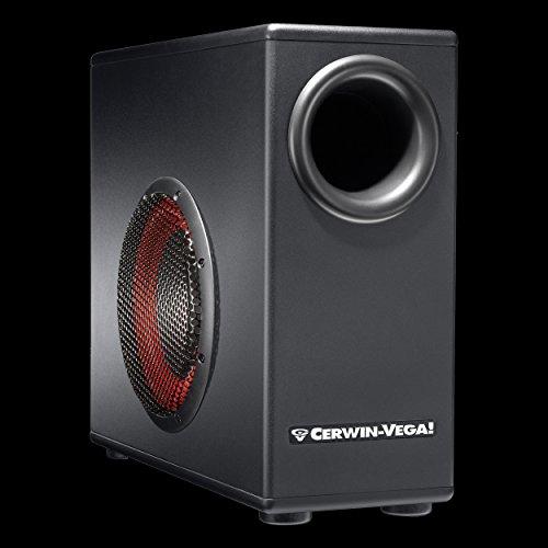 Powered Studio Subwoofer - Cerwin Vega XD8s Active Studio Subwoofer