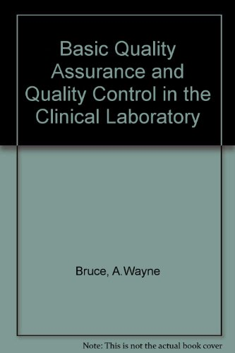 Basic Quality Assurance and Quality Control in the Clinical Laboratory
