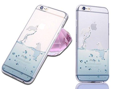 Iphone Cartoon Dolphin Penguin Animal product image