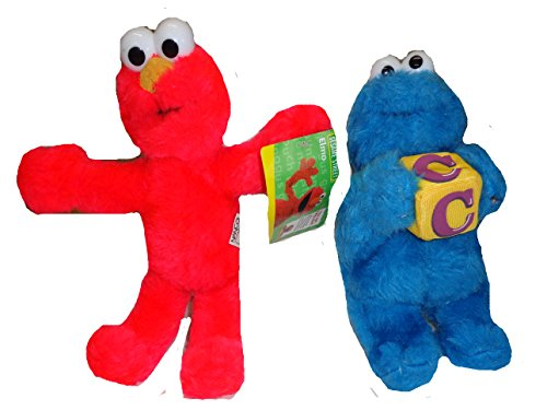 Sesame Street Elmo and Cookie Monster 9