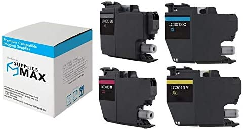 LC-3213XLVALBP BK//C//M//Y SuppliesMAX Compatible Replacement for Brother DCP-J572//J772//J774//MFC-J491//J497//J690//J890//J895DW High Yield Inkjet Combo Pack