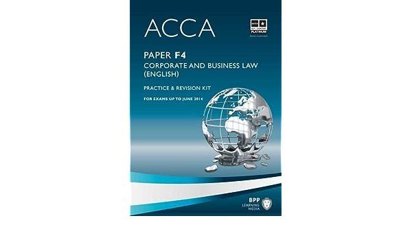 acca f4 kaplan book free