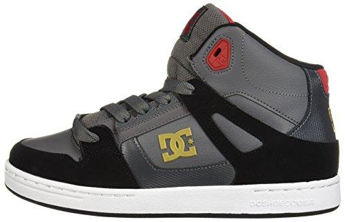 Pictures of DC Kids' Pure HIGH-TOP Skate Shoe Black Hawaiian Ocean 5