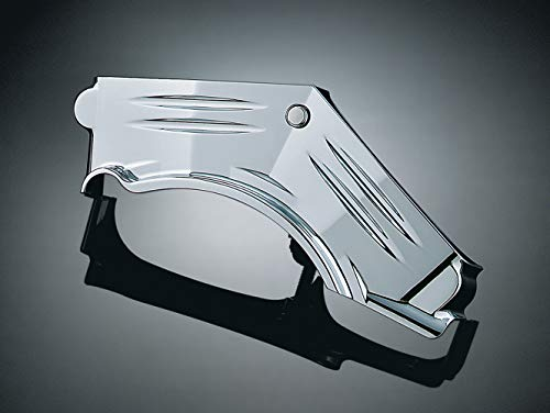 - Kuryakyn 8143 Motorcycle Engine Accessory: Cylinder Base Cover Accent for 1999-2006 Harley-Davidson Motorcycles, Chrome