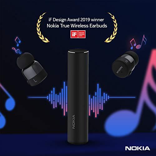 Nokia Mobile True Wireless Earphone V1, Black (BH-705)