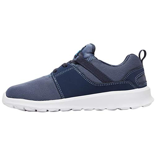 Trainers Blue Heathrow Youth Blue Textile DC Blue 1watfqRn