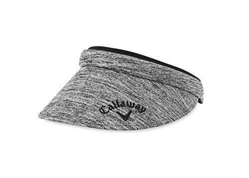 (Callaway Golf 2019 Women's Clip Visor, Black)