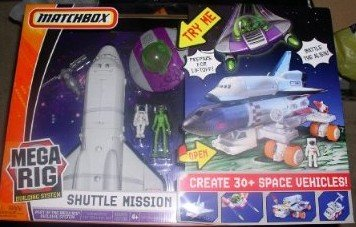 Matchbox Mega Rig Shuttle Mission
