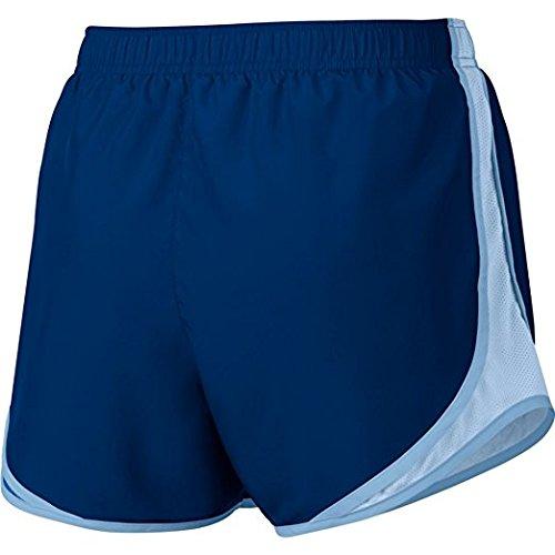Pantaloncino Colorblock Nike Womens Wet Wicking Blue Blue / Idrogeno Blu / Grigio Lupo