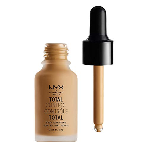 NYX PROFESSIONAL MAKEUP Total Control Drop Foundation - Golden, With Red Undertones