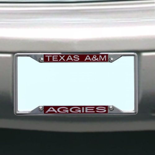 NCAA Texas A&M Aggies License Plate ()