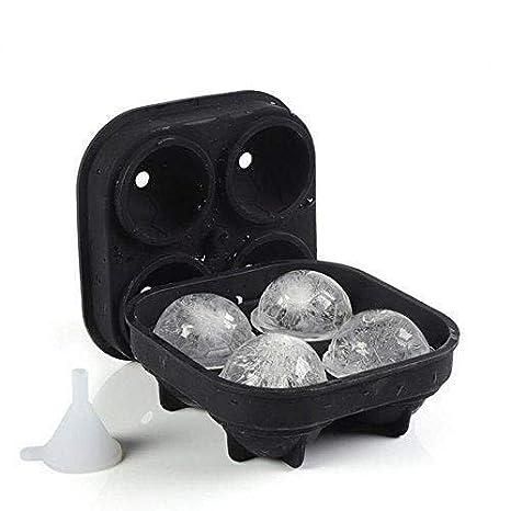 Compra Flexible Bandejas de silicona for bolas de hielo, balones ...