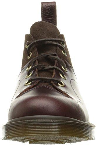 Dr.Martens 5-Eyelet Church Monkey Dark Brown Mens Boots Dark Brown