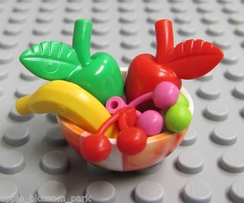 LEGO Fruit Bowl (Cherries, Bananas, Apples, More)