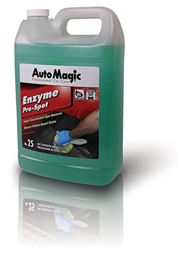 Enzyme Pre-Spot by Auto Magic - Concentrated Interior Cleaner - 1 Gallon